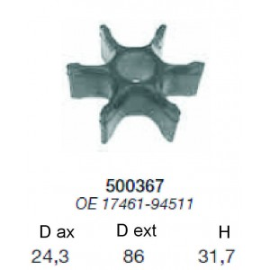 rotor suzuky 90 / 115 cp,( 52.367.00)